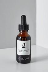 Groom Huile à rasage - 30ml