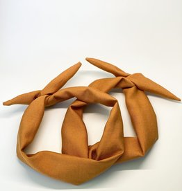 Boraly créations Serre-tête - Lin cuivre