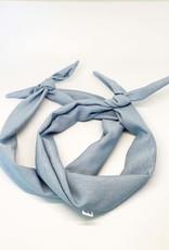 Boraly créations Serre-tête - Lin bleu pâle