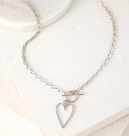 Lover's tempo Collier - Lovestruck Heart - Plaqué argent