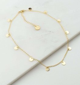 Lover's tempo Collier - Fool's - Plaqué or