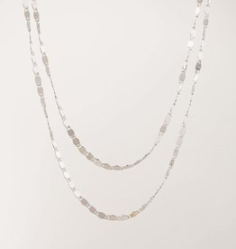 Lover's tempo Collier - Cleo Layered - Plaqué argent