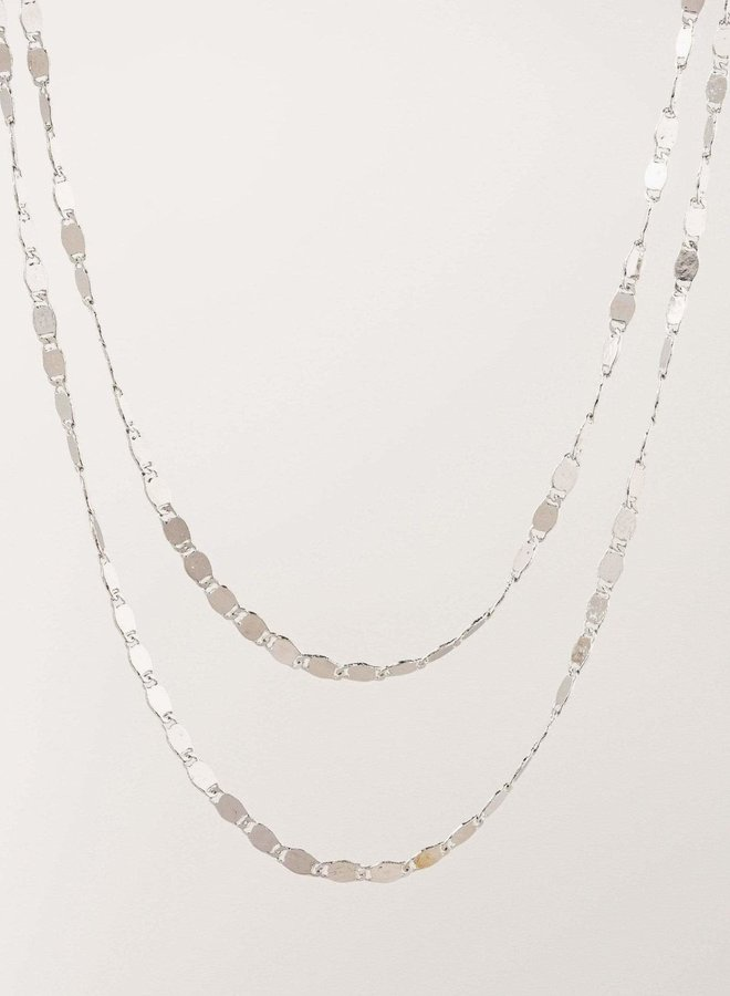 Collier - Cleo Layered - Plaqué argent