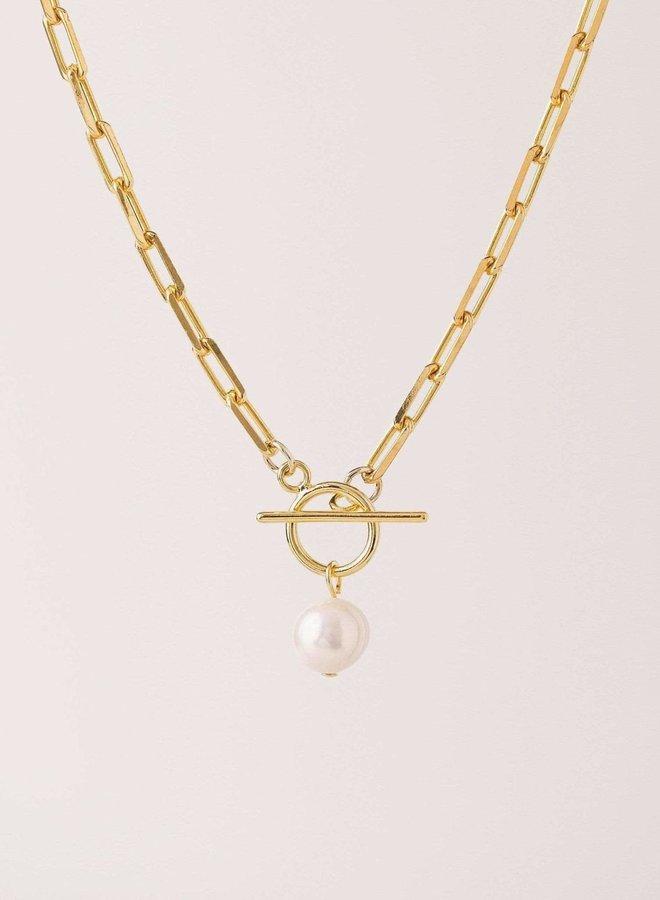 Collier - Thalassa Pearl - Plaqué or
