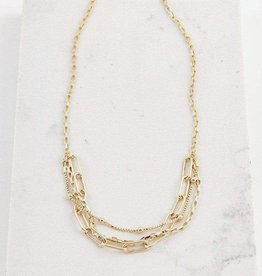 Lover's tempo Collier - Shay - Plaqué or