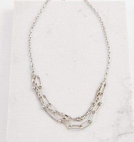 Lover's tempo Collier - Shay - Plaqué argent