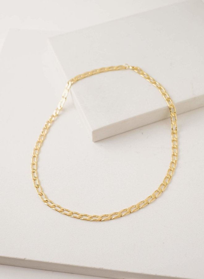 Collier - Chain Reaction - Plaqué or