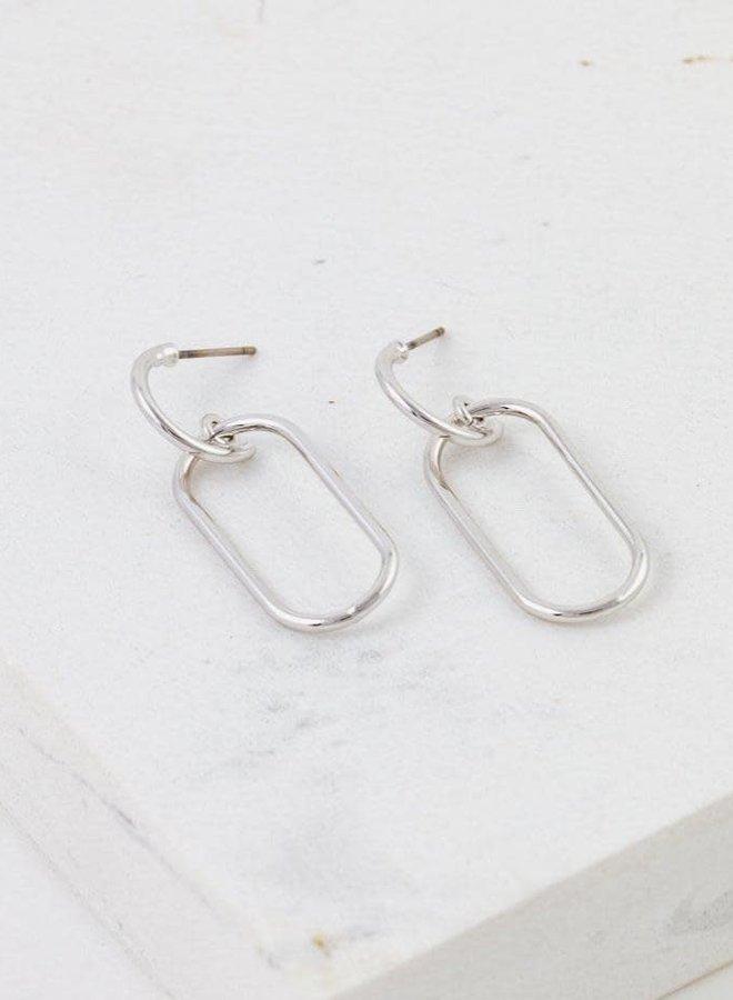 Boucles d'oreilles - Lago Drop - Plaqué argent