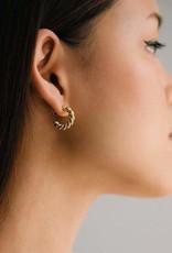 Lover's tempo Boucles d'oreilles - Dawson - Plaqué or