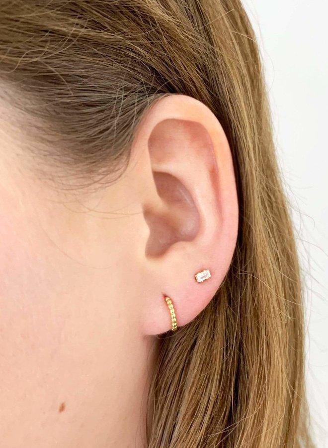Boucles d'oreilles - Mia Duet - Plaqué argent