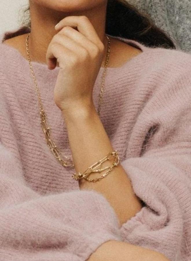 Bracelet - Shay - Plaqué or