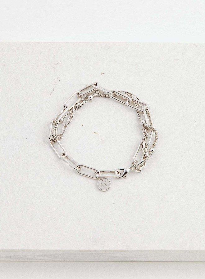 Bracelet - Shay - Plaqué argent