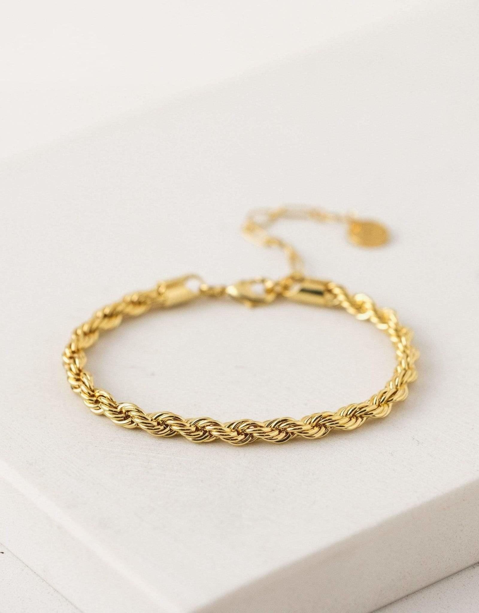 Lover's tempo Bracelet - Sloane - Plaqué or
