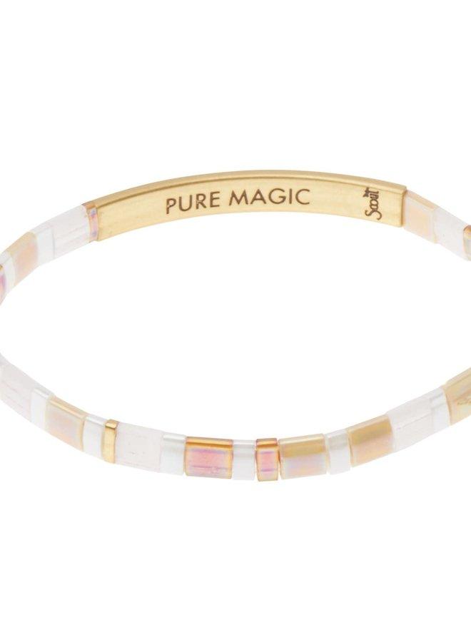 Bracelet Miyuki - Pure Magic - Neutre