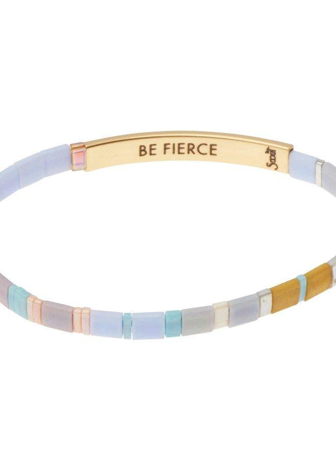 Bracelet Miyuki - Be Fierce - Lavande