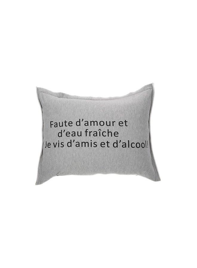 Coussin 16x21 - Faute d'amour