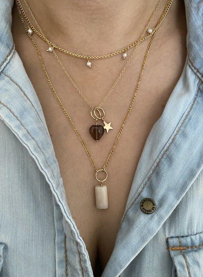 """Collier 15"""" - Petites perles"""