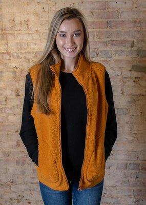 HYFVE Full zip sherpa vest - Isabelle
