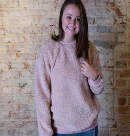 Easel Buckle boxy pullover - Lucinda