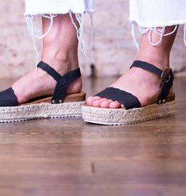 Pierre Dumas Espadrille bottom sandals  - Addington