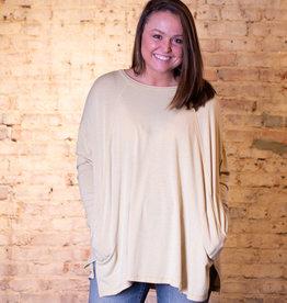 Easel Ultra soft rayon tunic top - Dulcie