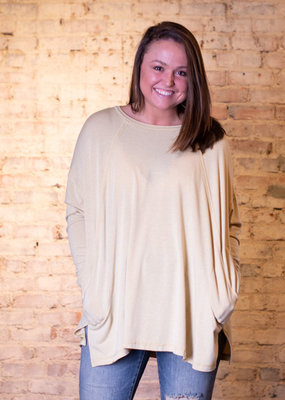 Easel Ultra soft rayon tunic top - Dulcie