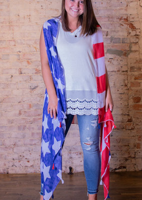 Southern Grace American Flag Cover Up - Americana