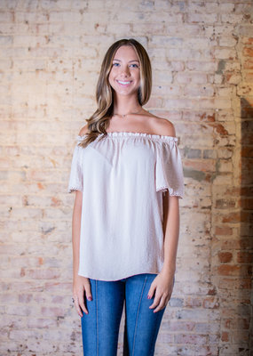 Oddi Cute off the shoulder top  - Kerrie