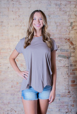 Wishlist Short sleeve double layered top - Jacie
