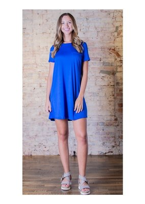 Mittoshop Round neck tee dress - Glyndal