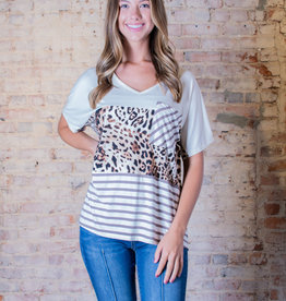 Entro Striped and Contrast Leopard - Carma