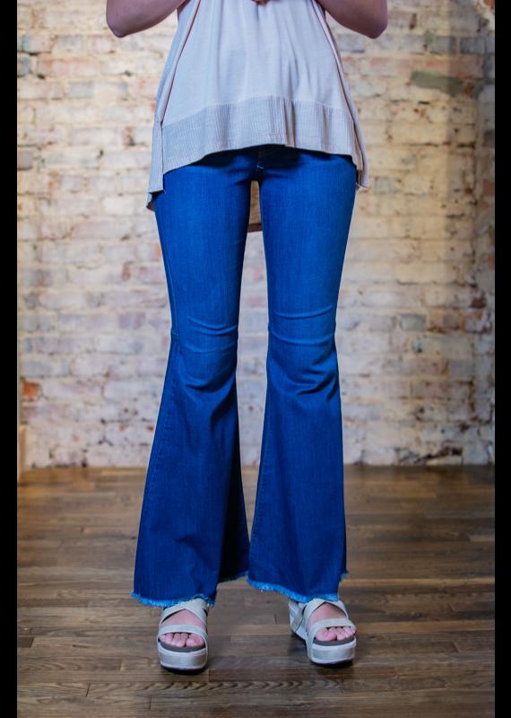 Judy Blue Hi Waist Super Flare Jeans - Nashville