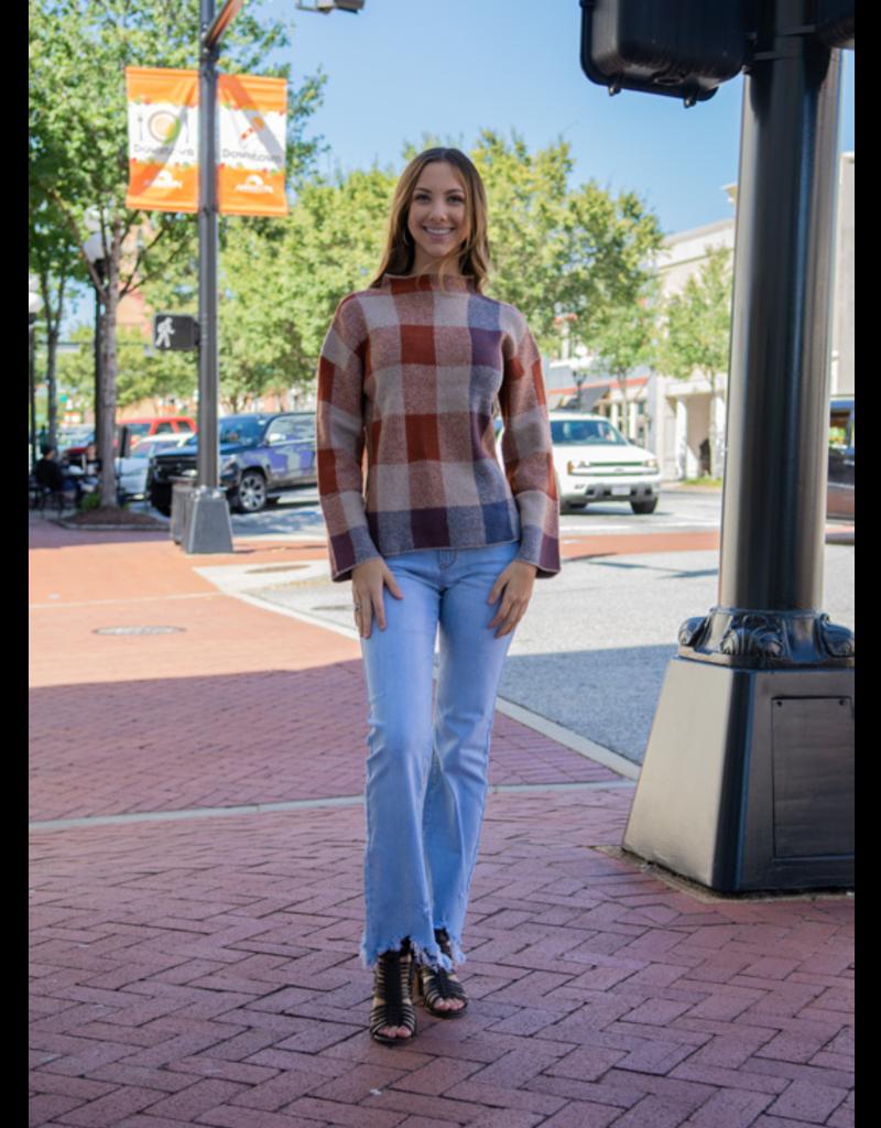 Hem & Thread Vesta - Crecker Print Sweater