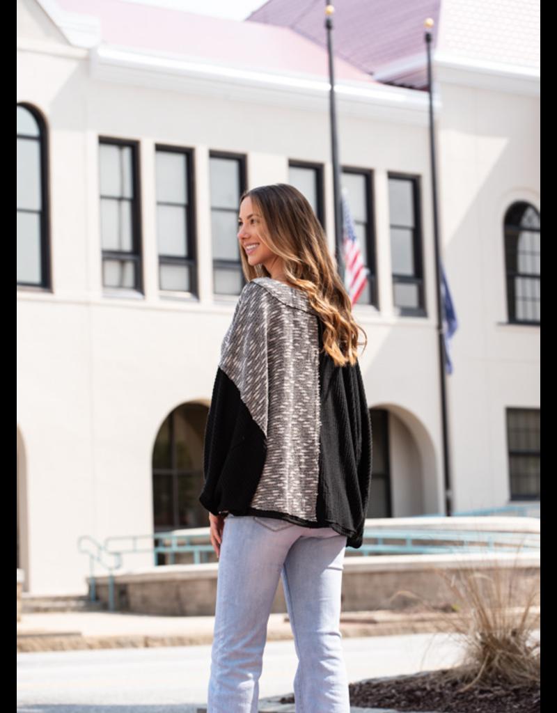 L Love Renetta - Knit V-Neck Pullover Sweater