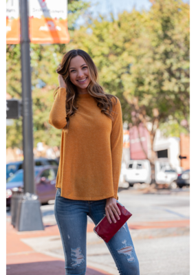 Mittoshop Embo Sweater Mock Neck - Oprah