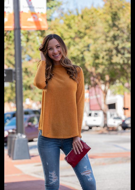 Mittoshop Embo Sweater Mock Neck - Oprah