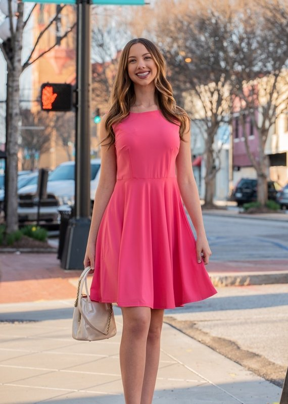 Pine Apparel Coral Flare Dress - Coralee