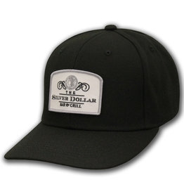 "The ""Silver Dollar Bar & Grill"" Black Snap Back Ball Cap"