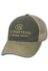 The Wort Hotel Blue and Green Snapback