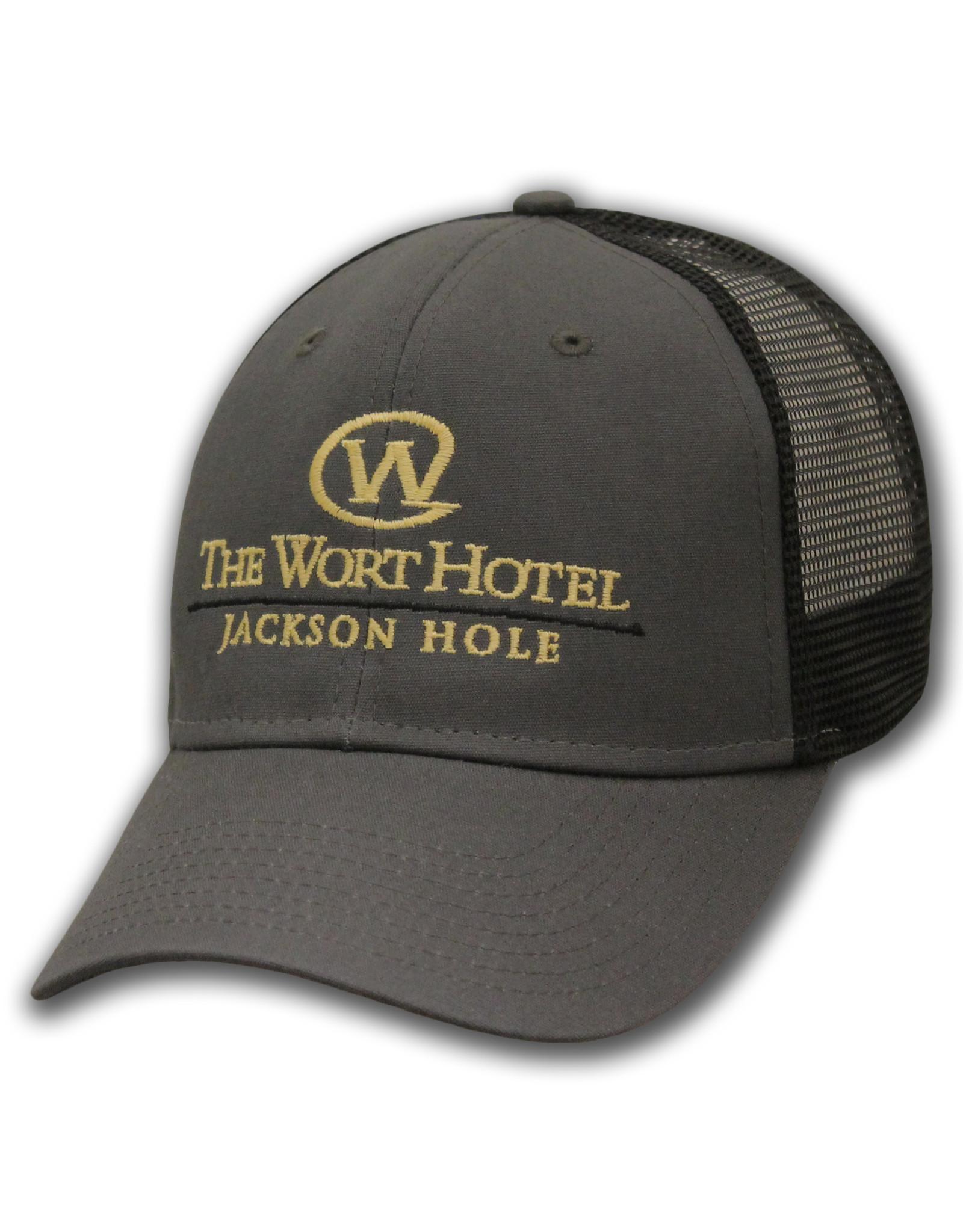 The Wort Hotel Grey Mesh Snapback
