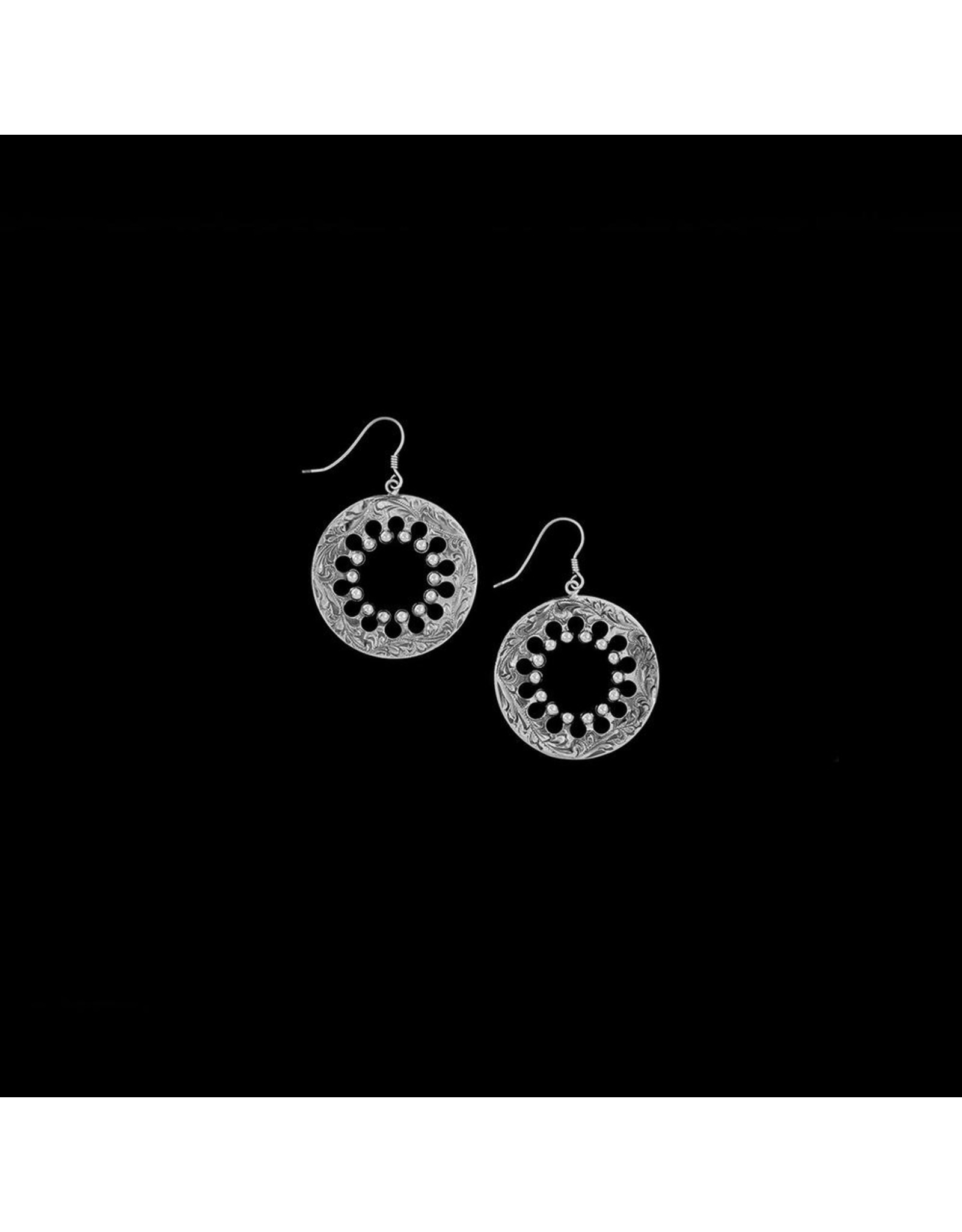 Wagon Wheel Mini Earrings
