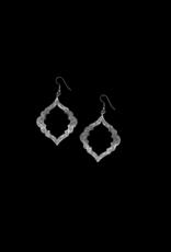 Clara Silver Mesa Earrings