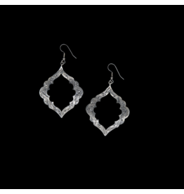 Clara Silver Mesa Earrings