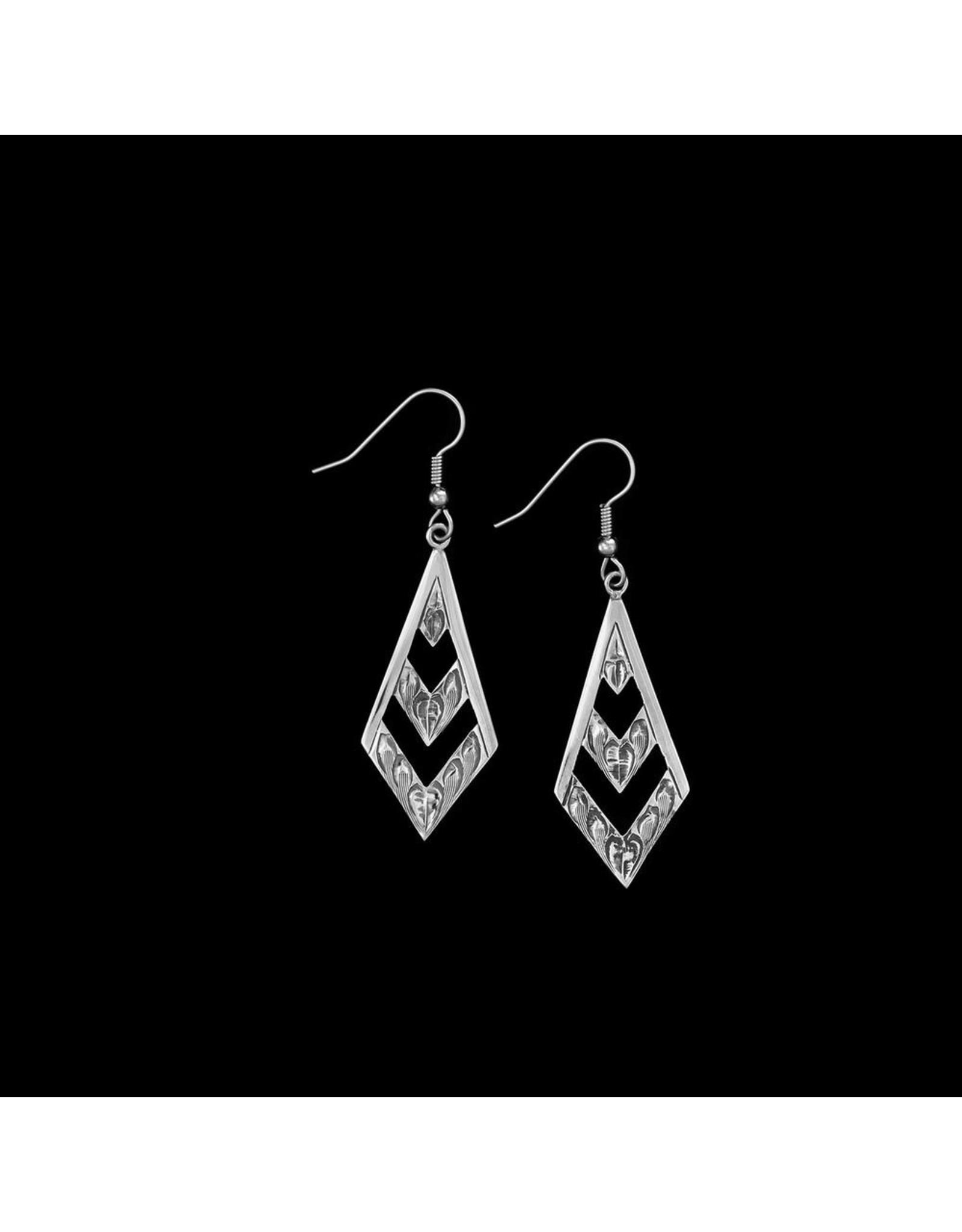 The Navajo Brave Earrings