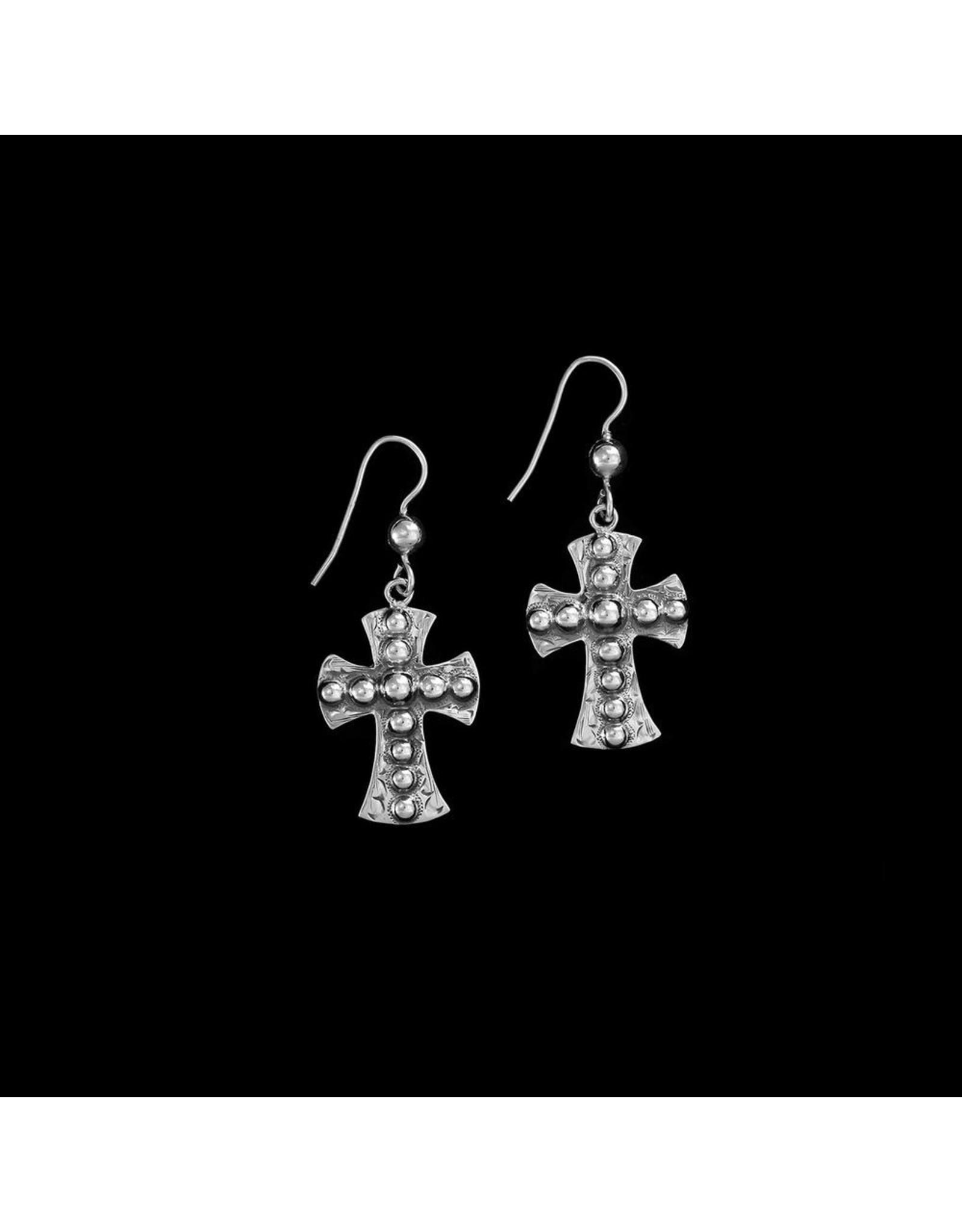 Vogt The Blair Classic Cross Earrings
