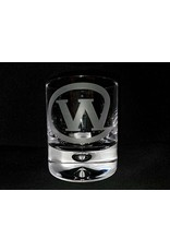 11 ounce The Wort Hotel Whiskey Glass