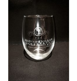 Silver Dollar Bar and Grill  Stemless Wine Glass