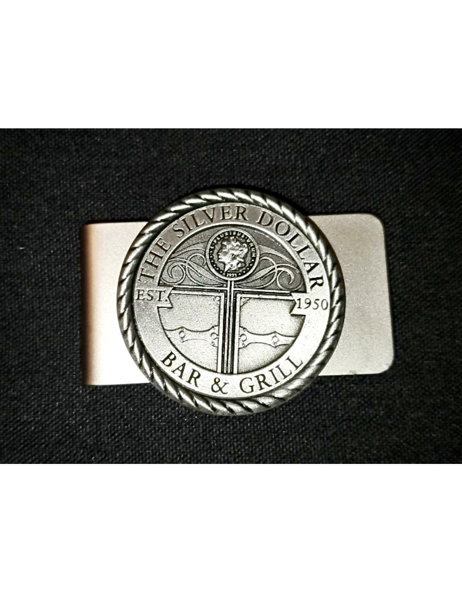 Silver Dollar Bar and Grill  Money Clip