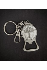 Silver Dollar Bar and Grill  Bottle Opener Key Chain
