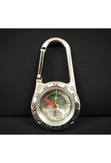 Silver Dollar Bar and Grill Carabiner Compass